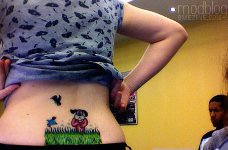 best or worst tattoo duck hunt tramp stamp