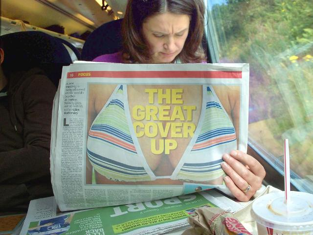 the great coverup newspaper